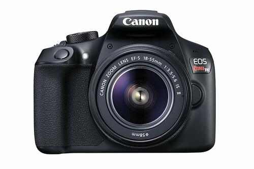Canon+EOS+Rebel+T6+Digital+SLR+Camera+Kit+with+EF-S+18-55mm+f%2F3.5-5.6+IS+II+Lens+%28Black%29+-+Review